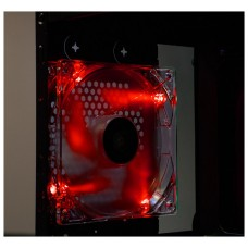 Talius ventilador caja 4 led FAN-01 12cm red (Espera 5 dias)