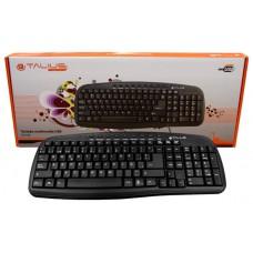 Talius teclado 838 Multimedia black USB (Espera 5 dias)
