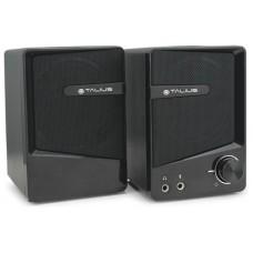 Talius altavoz SPK-2001 USB 2.0 black (Espera 5 dias)