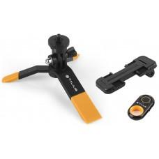 Talius kit tripode selfie bluetooth TAL-TRI01 yellow (Espera 5 dias)