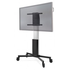 """CTOUCH 10080251 soporte de pie para pantalla plana 2,18 m (86"""") Soporte del panel plano y fijo Aluminio, Negro (Espera 4 dias)"""