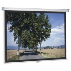 PANTALLA MANUAL PROJECTA SLIMSCREEN 200x200 cm 1:1 CON BORDE NEGRO LATERAL (Espera 4 dias)
