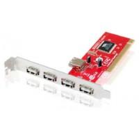 Conceptronic - Controladora PCI - 5 Puertos USB 2.0 -