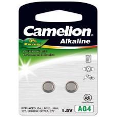 Pila Botón Alcalina LR66 1.5V 0% Mercurio (2 pcs) Camelion (Espera 2 dias)