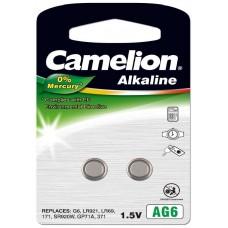 Pila Botón Alcalina LR69 1.5V 0% Mercurio (2 pcs) Camelion (Espera 2 dias)