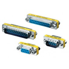 ADAPTADOR DB9 EQUIP DB9 MACHO - DB9 MACHO  124300
