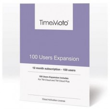 TimeMoto - Pack expansion 100 usuarios para software