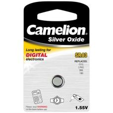 Boton Oxido plata SR43W 1.55V (1 pcs) Camelion (Espera 2 dias)
