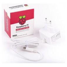 TRANSFORMADOR PARA RASPBERRY PI 5.1V 3A USB-C WHITE