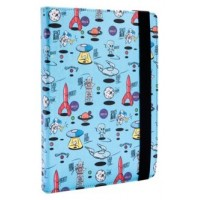 FUNDA TABLET UNIVERSAL SILVER HT 9-10.1  SPACE BLUE