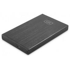"""CAJA HDD/SSD 1LIFE 2.5"""" SATA USB2.0 NEGRA"""