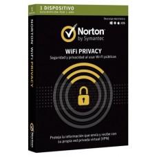 SOFTWARE ANTIVIRUS NORTON WIFI PRIVACY 1 LICENCIA