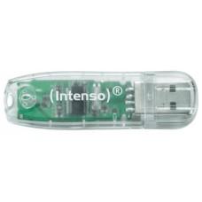 Intenso 3502480 Lápiz USB 2.0 Rainbow 32GB Transp