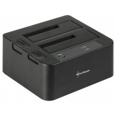 DOCKING STATION SHARKOON QUICKKPORT DUO CLONE SATA USB 3.1