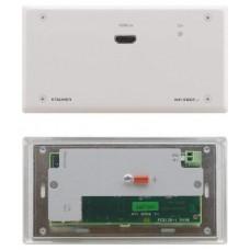 TRANSMISOR HDMI 4K60 4:2:0 SOBRE PAR TRENZADO WP-580TXR/EU(W)-86 HDBASET DE RANGO EXTENDIDO EN FORMATO WALL–PLATE KRAMER (Espera 4 dias)