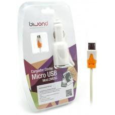 Cargador coche Micro USB 2.1A Biwond