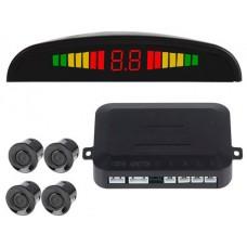 Sensor Aparcamiento (4 sensores+Display LED+Alarma Sonora)