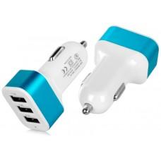Cargador Coche USB 3 Puertos 3.1A (Espera 2 dias)