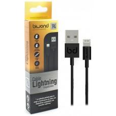 Cable Datos y Carga iPhone 5/5C/5S/6/6+/6S/7 (IOS12) Gold Negro Lightning (Espera 2 dias)