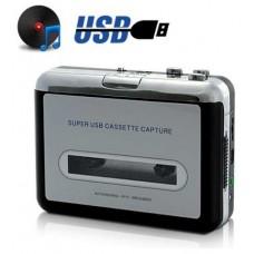 Conversor Cintas Cassette a MP3 USB