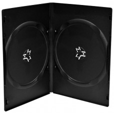 Funda CD/DVD Doble Standar Negra
