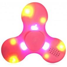 Spinner LED Speaker Rosa (bluettoth y luces led)