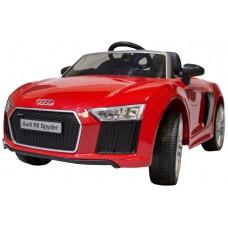 Coche Infantil Eléctrico Audi R8 Spyder Rojo