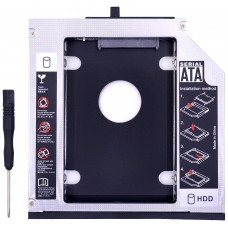 SATA Aluminio 3.0 HDD Caddy 12.7mm (Espera 2 dias)