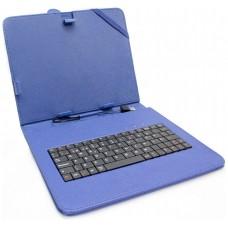 """Funda Tablet Teclado 7"""" Azul"""