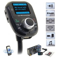 Transmisor FM LED Bluetooth Coche