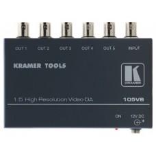 Kramer Electronics 105VB 400MHz Negro amplificador de línea de video (Espera 2 dias)