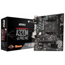 PB AMD SAM4 MSI A320M PRO-M2 V2 2DDR4 PCIE SATA3 HDMI