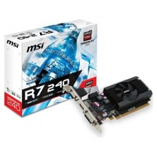 SVGA ATI RADEON MSI R7 240 1GD3 64BIT LP DDR3 VGA