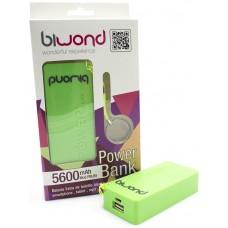 Power Bank 5600mAh Blanco