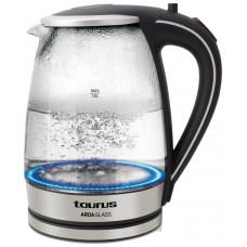 HERVIDOR DE AGUA TAURUS AROA GLASS 2200W 1.8L (Espera 4 dias)