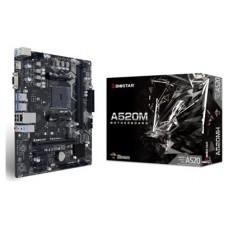 PB BIOSTAR A520MH Skt AM4 M-ATX 4DDR4 3200MHz HDMI/VGA