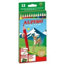 LAPICES DE COLORES ALPINO 12UDS