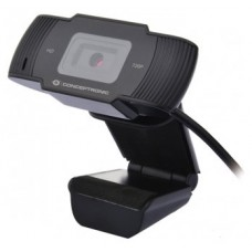 WEBCAM HD CONCEPTRONIC USB 720P-1080P INTERPOLADO (Espera 4 dias)