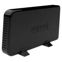 CAJA EXTERNA APPROX USB 3.0 3,5 PARA DISCOS SATA COLOR