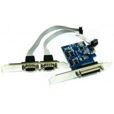 TARJETA PCIE INTERNA A 1XPARALELO + 2XSERIE APPROX