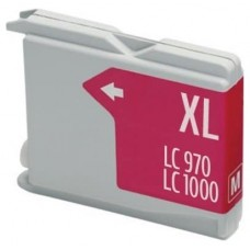 CARTUCHO COMP. BROTHER LC1000XL/LC970XL MAGENTA 26.6