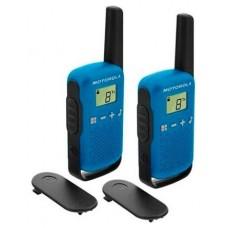 MOTOROLA T42 Walkie Talkie 4Km 16CH Azul