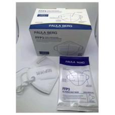 Mascarilla FFP3 blanca certificado EN 149:2001 + A1