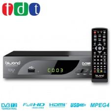 TDT HD Decodificador-Grabador DVB-T2 TDTy+ Biwond (Espera 2 dias)