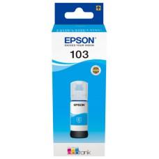 Epson Botella Tinta Ecotank 103 Cyan 70ml