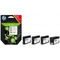 MULTIPACK 4 CARTUCHOS HP Nº950XL NEGRO - 951XL 1X