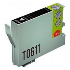 CARTUCHO GENERICO COMP. EPSON T0611 NEGRO T0611 (Espera 4 dias)