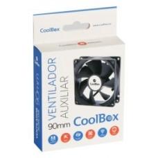 VENTILADOR CAJA ADICIONAL  9X9 COOLBOX COO-VAU090-3