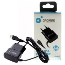 Cargador de Corriente MICRO USB 2.1A CROMAD (Espera 2 dias)