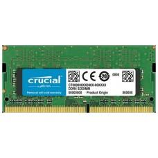 SODIMM 8GB 2400MHz DDR4  CL 17 1.2V  CT8G4SFS824A